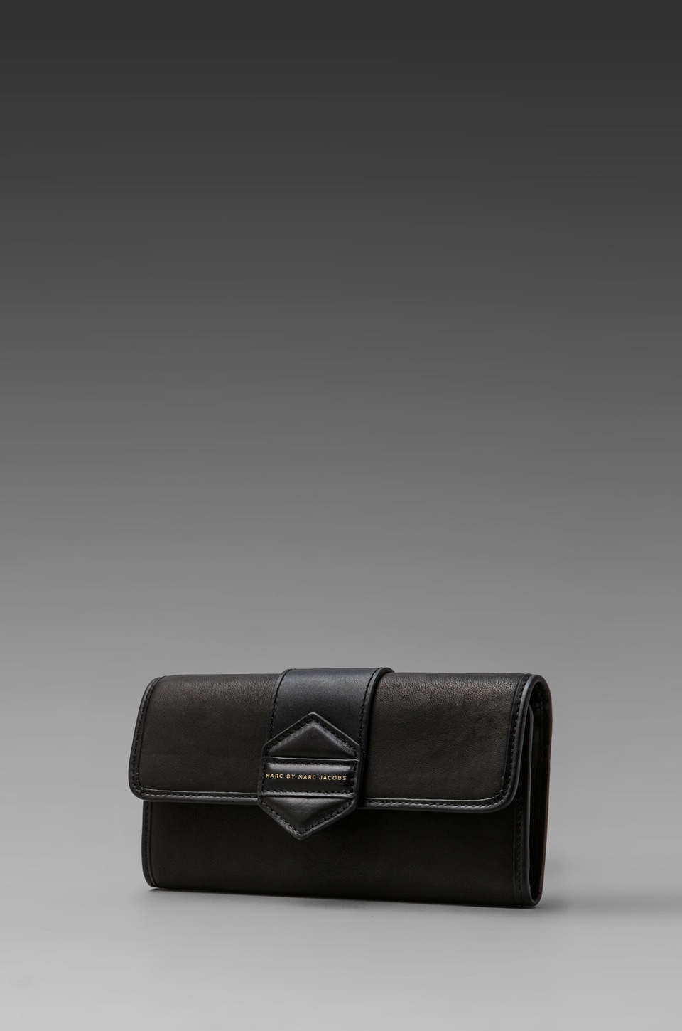 Marc by Marc Jacobs Flipping Out Long Trifold in Black
