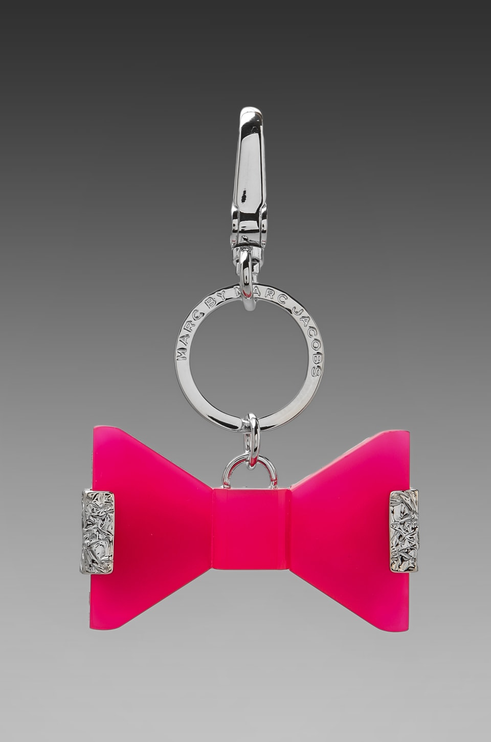 Marc by Marc Jacobs Bow Bag Charm in Knockout Pink