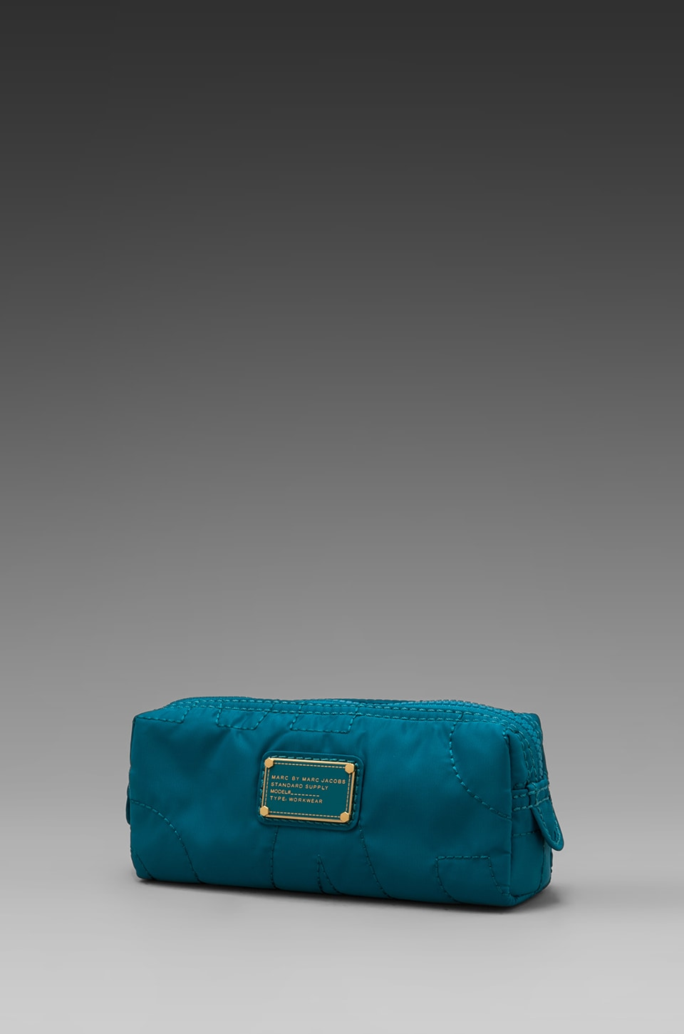 Marc by Marc Jacobs Pretty Nylon Narrow Cosmetic Bag in Deep Teal