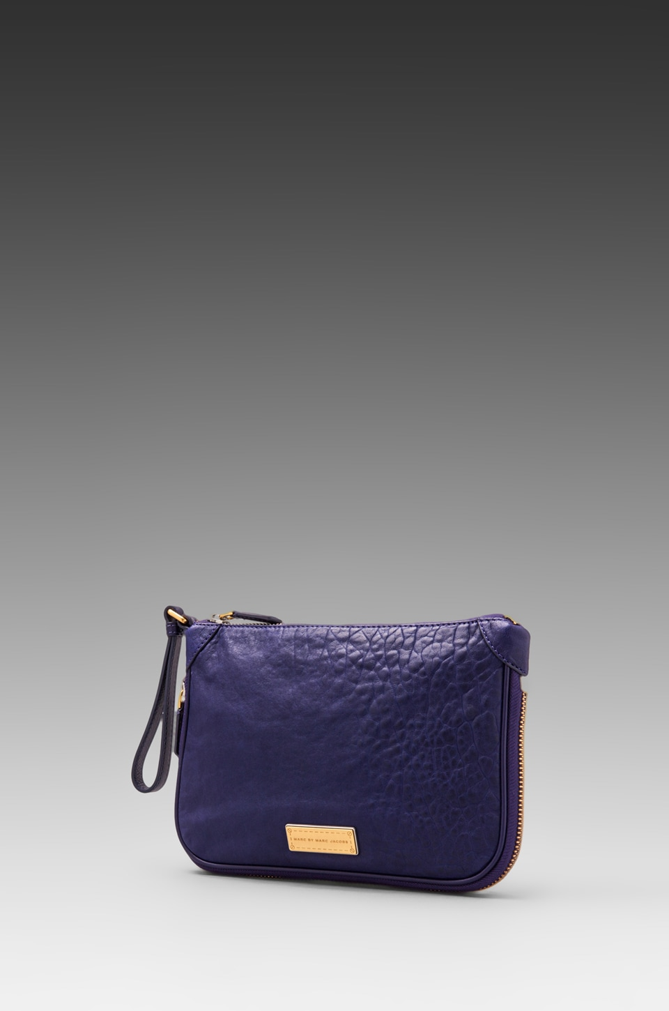 Marc by Marc Jacobs Washed Up Zip Clutch in Electric Stage Blue