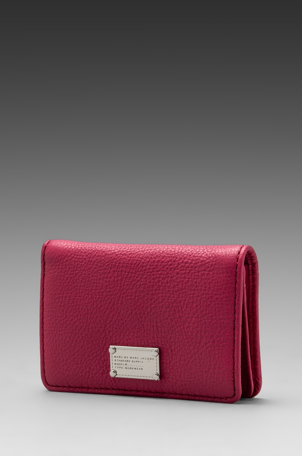 Marc by Marc Jacobs Classic Q Business Card Case in Rose Petal