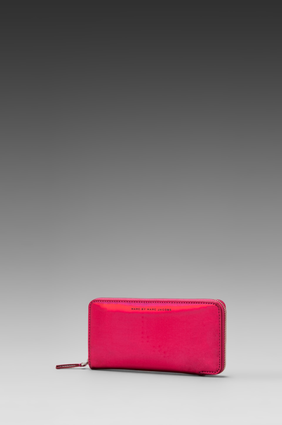 Marc by Marc Jacobs Techno Slim Zippy in Rose Holographic