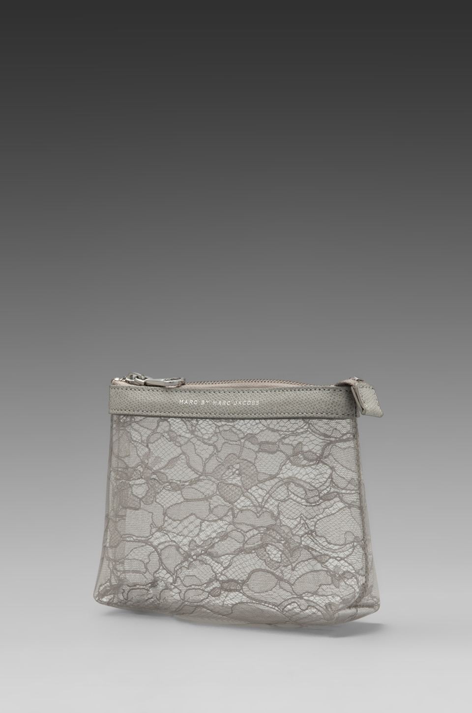 Marc by Marc Jacobs Lace Landscape Cosmetic Bag in Opal Grey