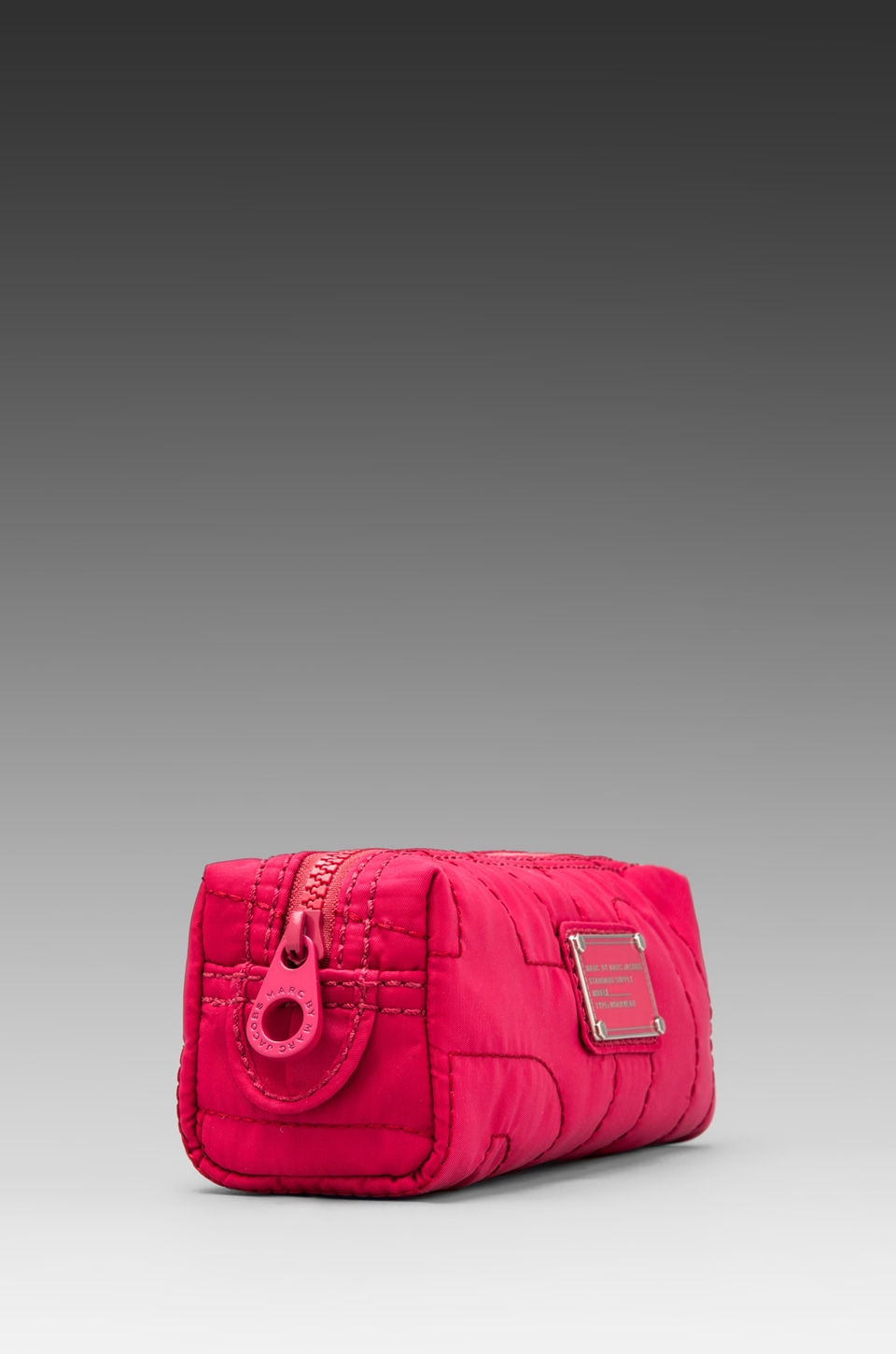 Marc by Marc Jacobs Pretty Nylon Narrow Cosmetic Bag in Rose Petal