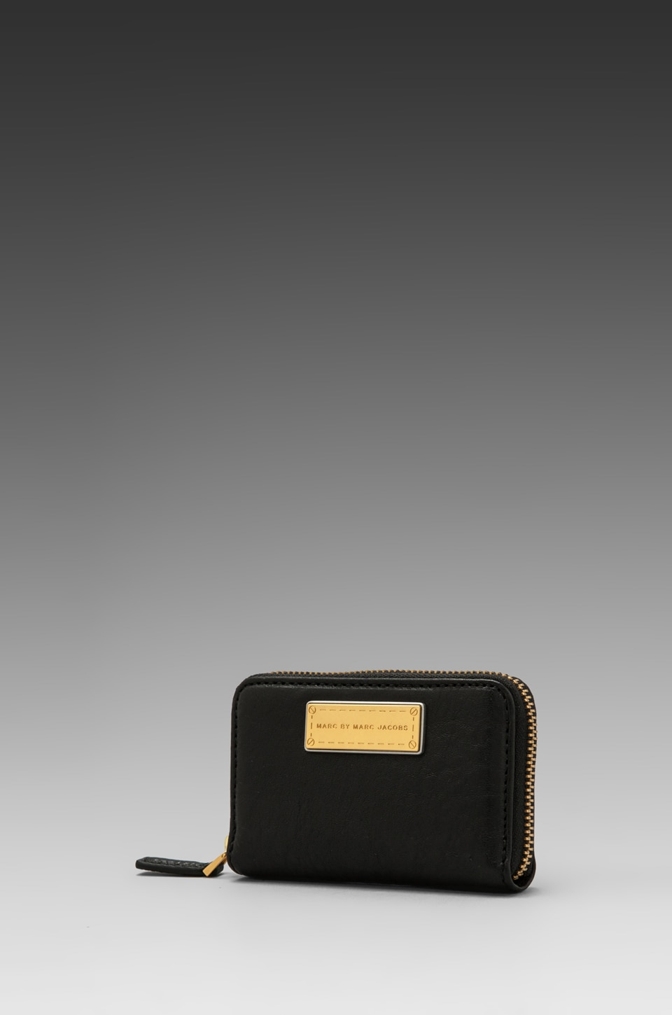 Marc by Marc Jacobs Washed Up Zip Card Case in Black
