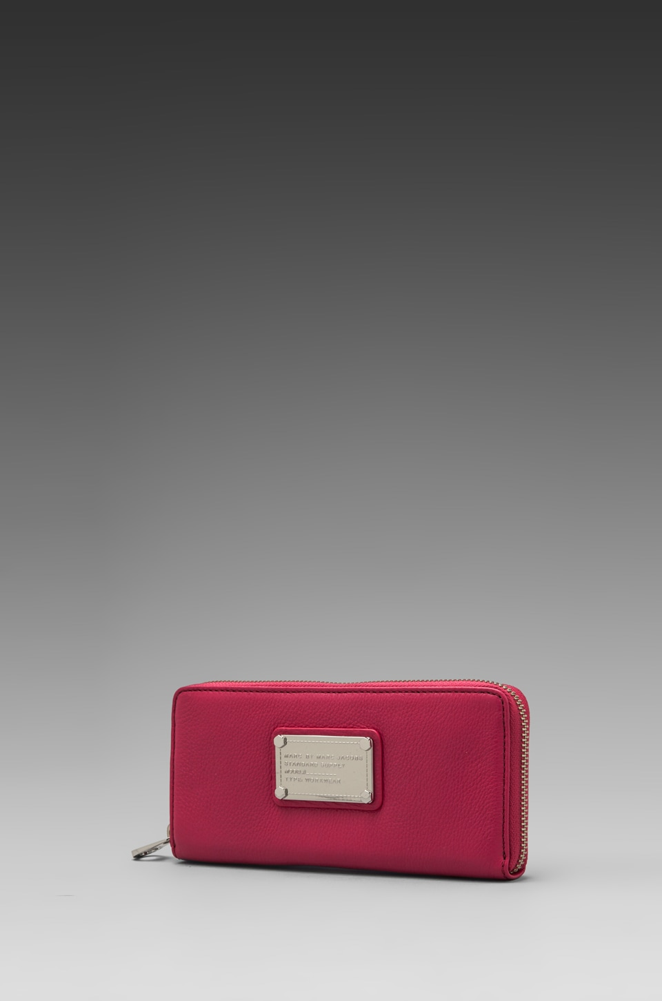 Marc by Marc Jacobs Classic Q Slim Zip Around in Rose Petal