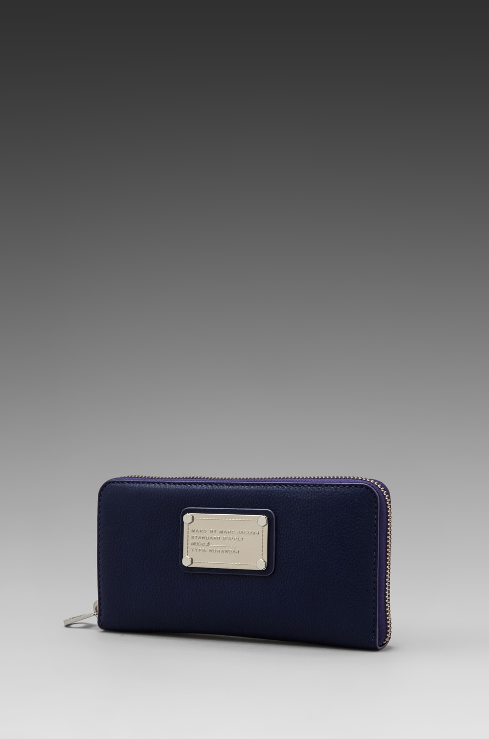 Marc by Marc Jacobs Classic Q Vertical Zippy in Electric Stage Blue