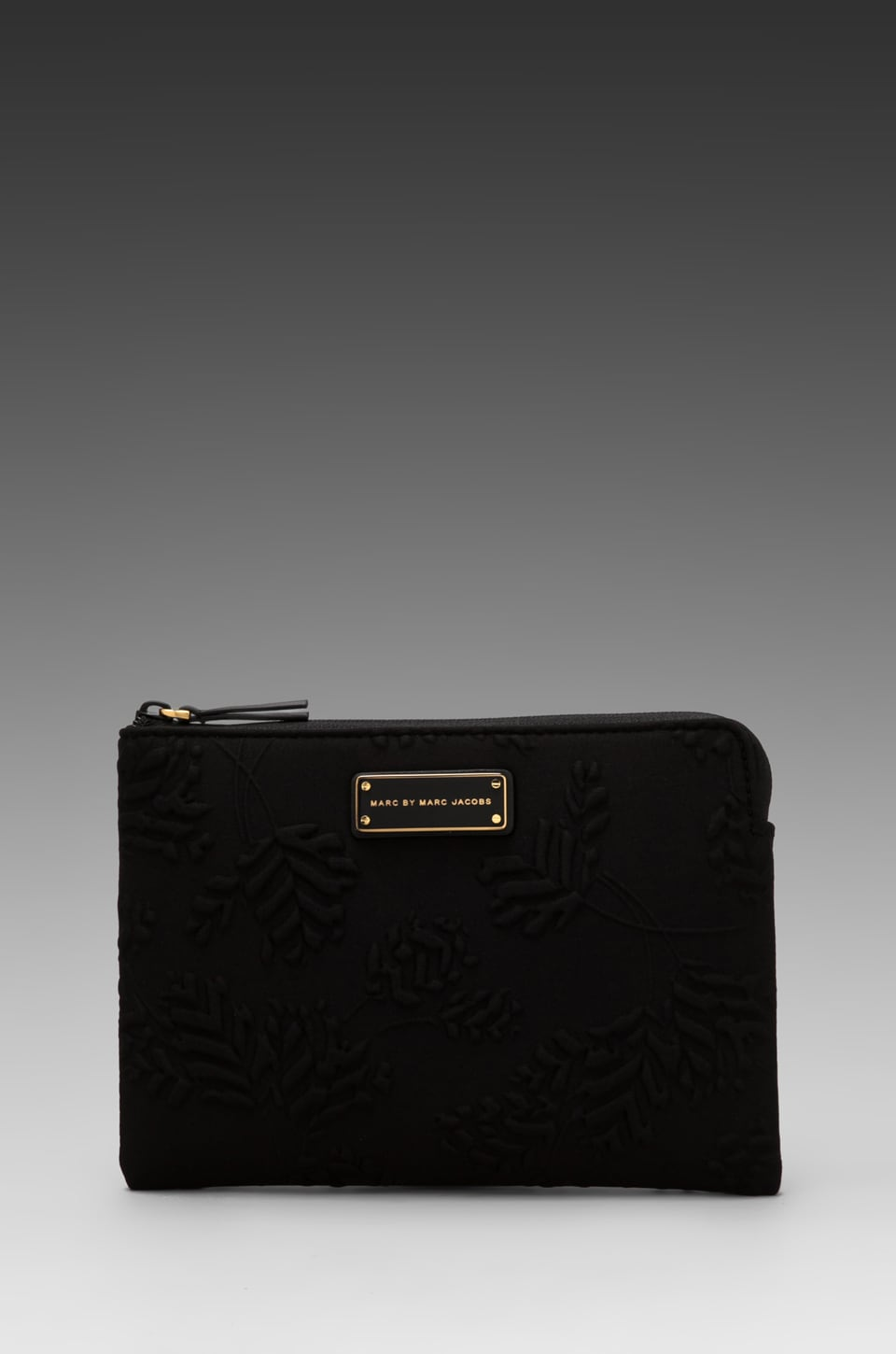 Marc by Marc Jacobs Mini Mareika Deboss Neoprene Tablet Mini Case in Black