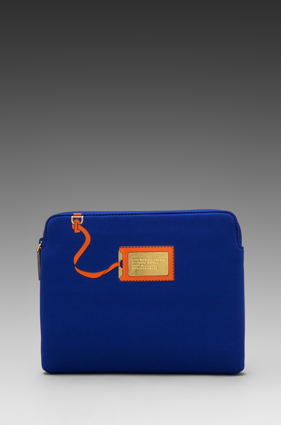 Marc by Marc Jacobs Heathrow Trompe L'oile Neoprene Tablet Case in Bauhaus Blue Multi
