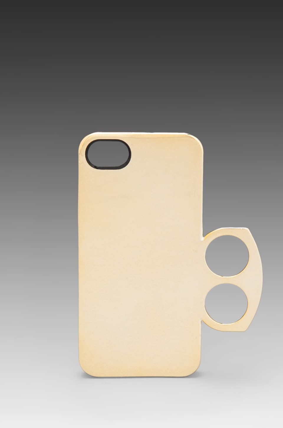 Marc by Marc Jacobs Metallic Ring on the Phone Case in Gold