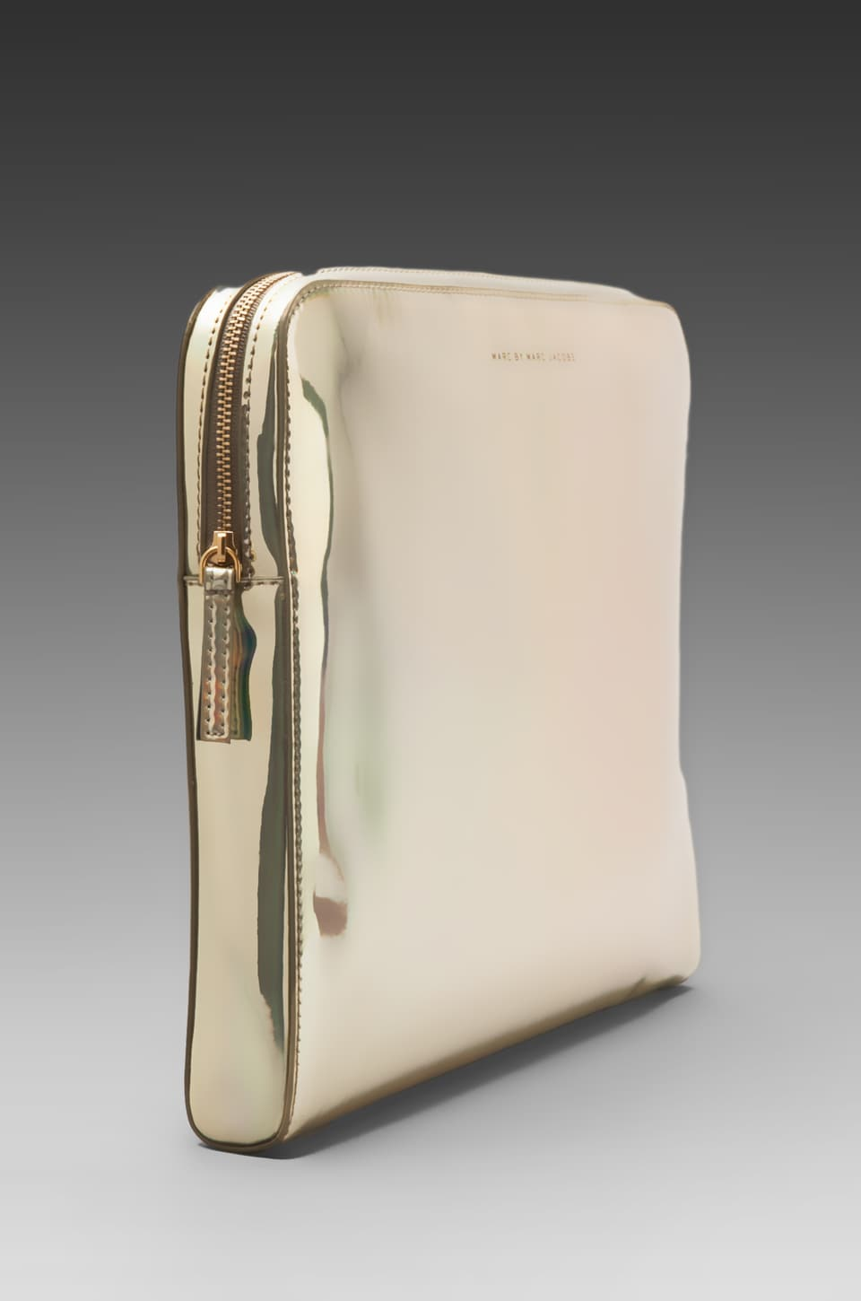 "Marc by Marc Jacobs Techno 13"" Computer Case in Pale Gold Holographic"
