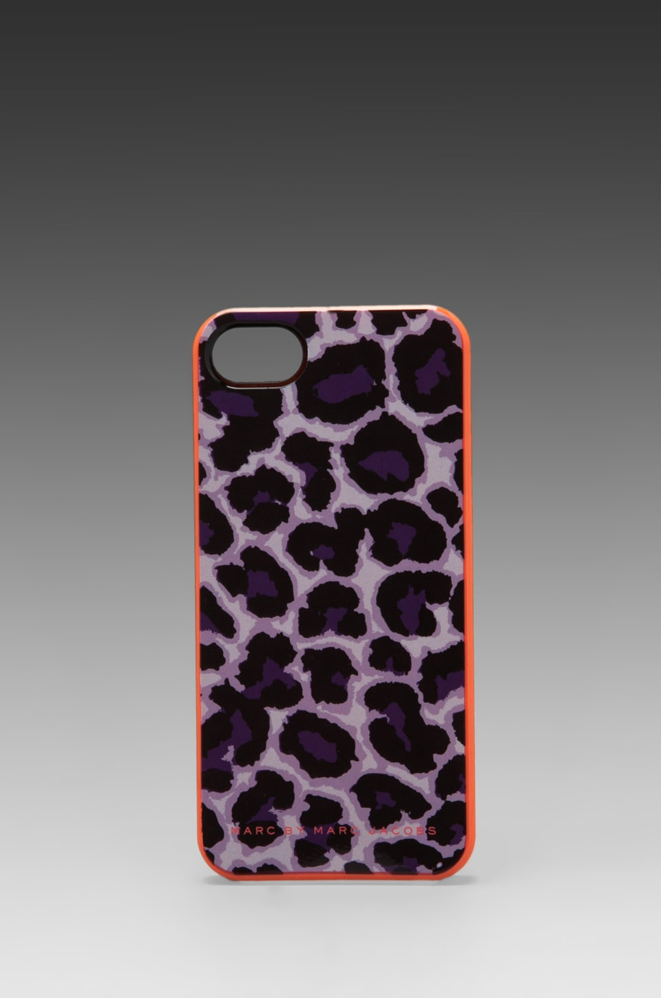 Marc by Marc Jacobs Lenora Leopard Phone Case in Royal Purple Multi