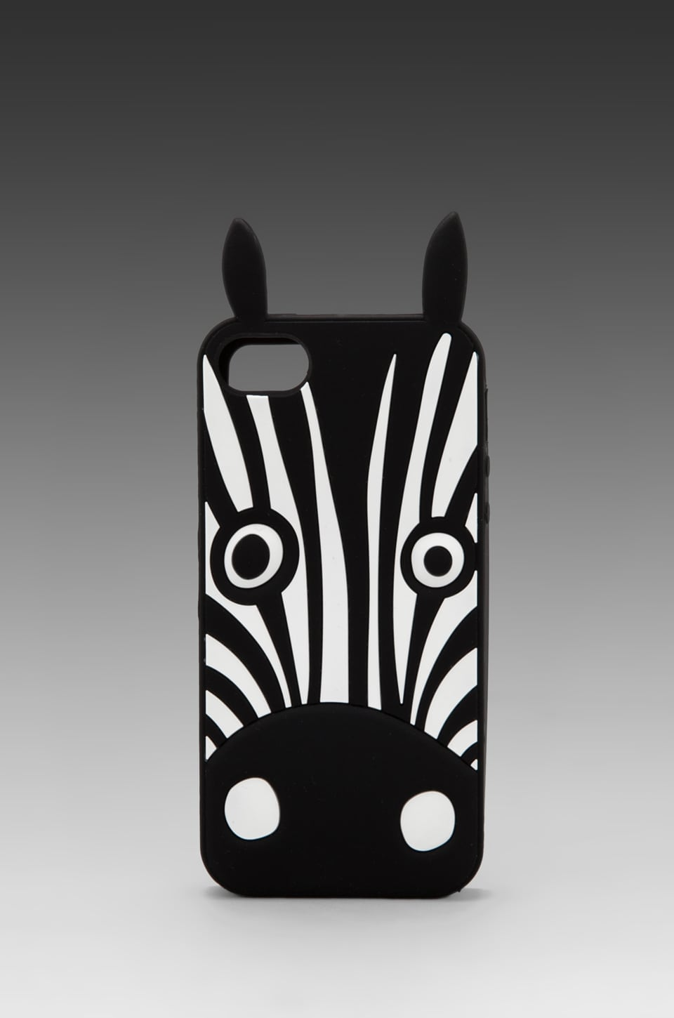 Marc by Marc Jacobs Julie Animal Creature Phone Case in Black