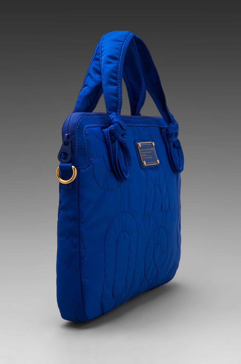 """Marc by Marc Jacobs Pretty Nylon 13"""" Computer Commuter in Bauhaus Blue"""