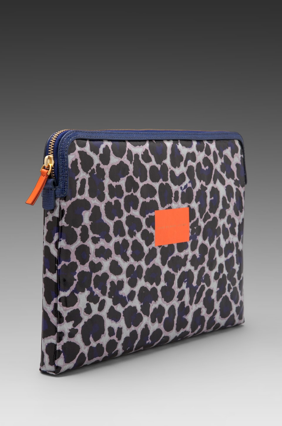 "Marc by Marc Jacobs Coated Canvas 13"" Computer Case in Royal Purple Multi"