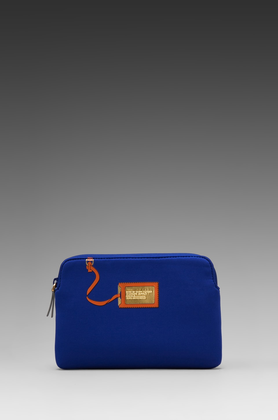 Marc by Marc Jacobs Heathrow Trompe L'oile Neoprene Mini Tablet Case in Bauhaus Blue Multi