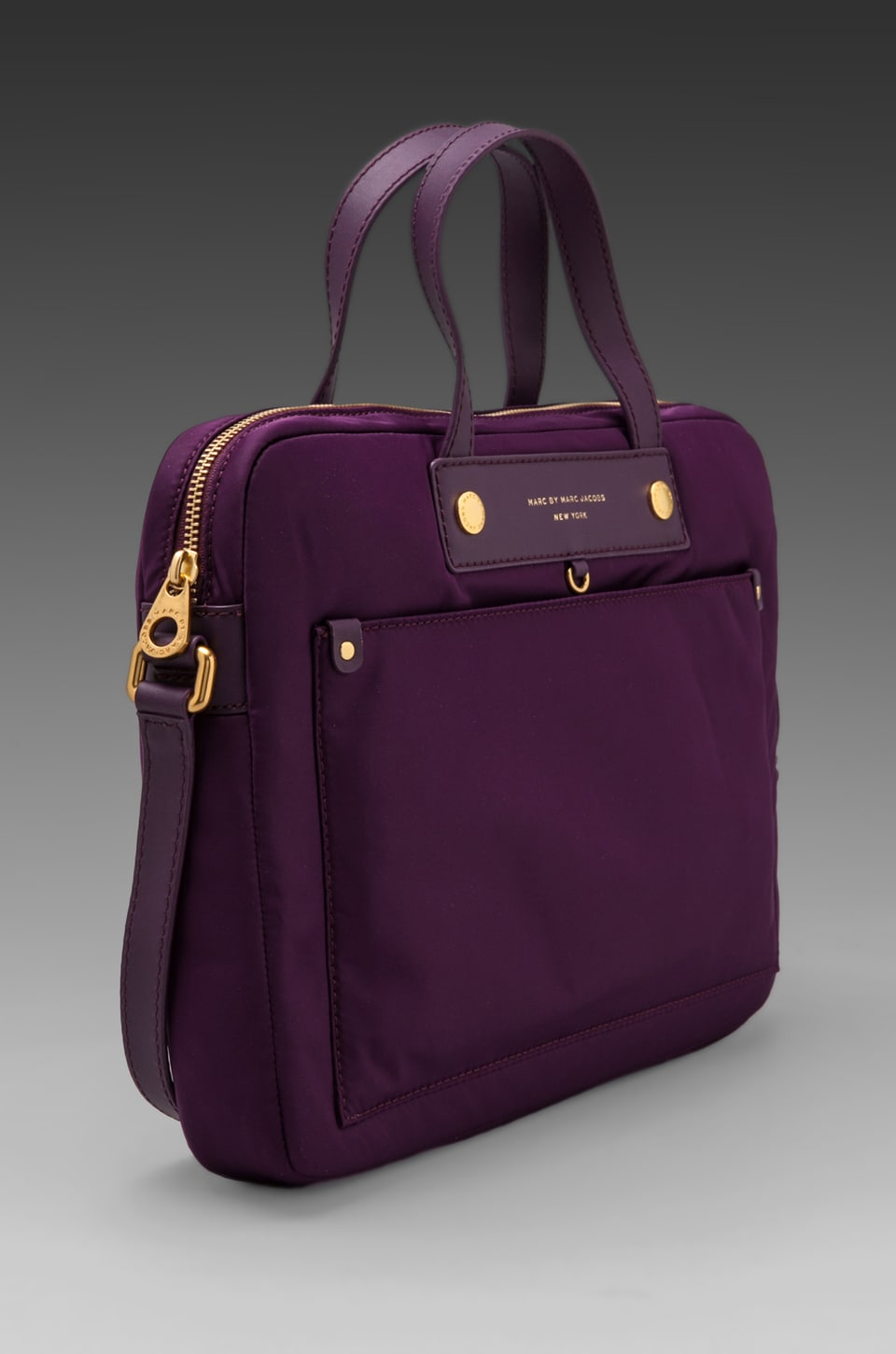 "Marc by Marc Jacobs Preppy Nylon 13"" Computer Case in Pansy Purple"