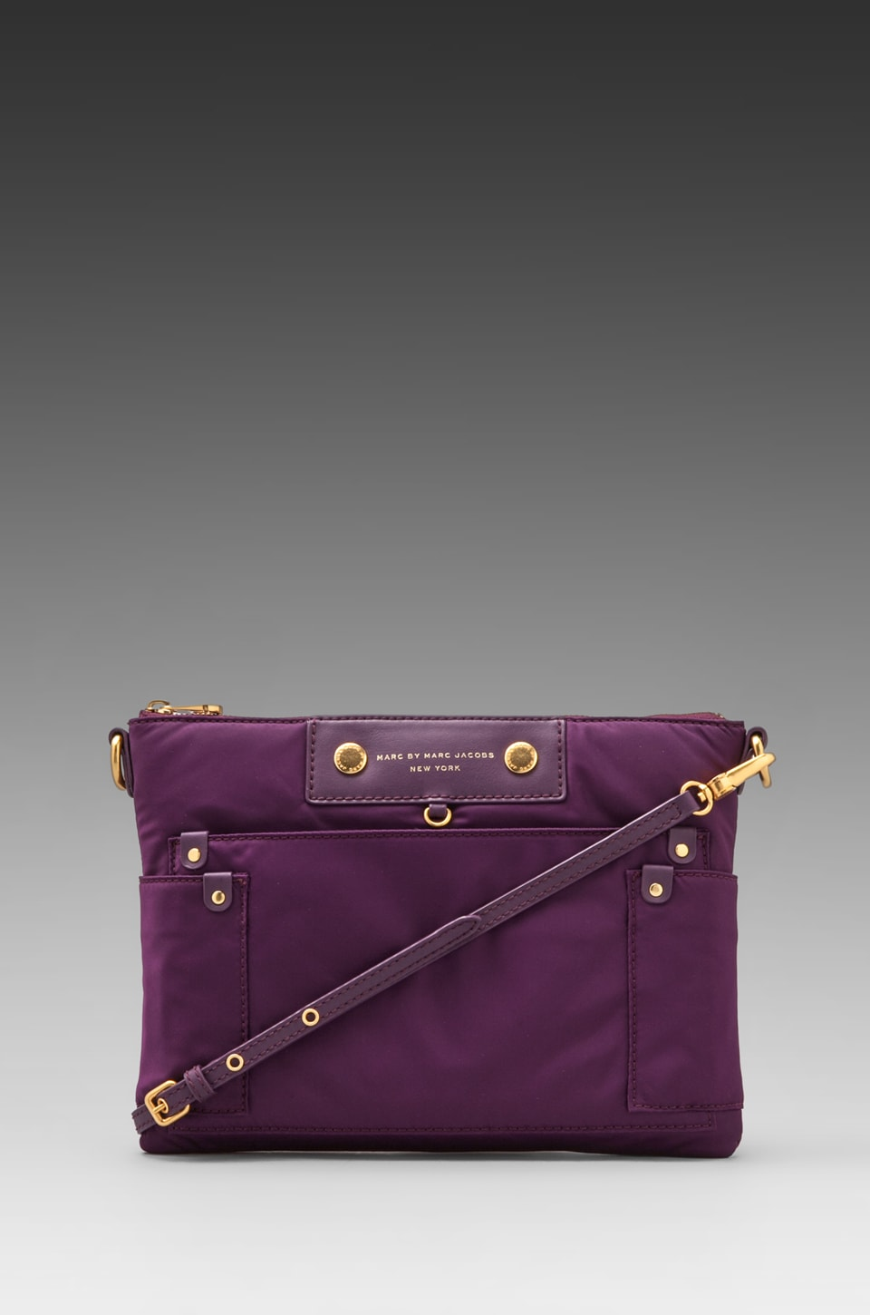 Marc by Marc Jacobs Preppy Nylon Tablet Computer Case in Pansy Purple