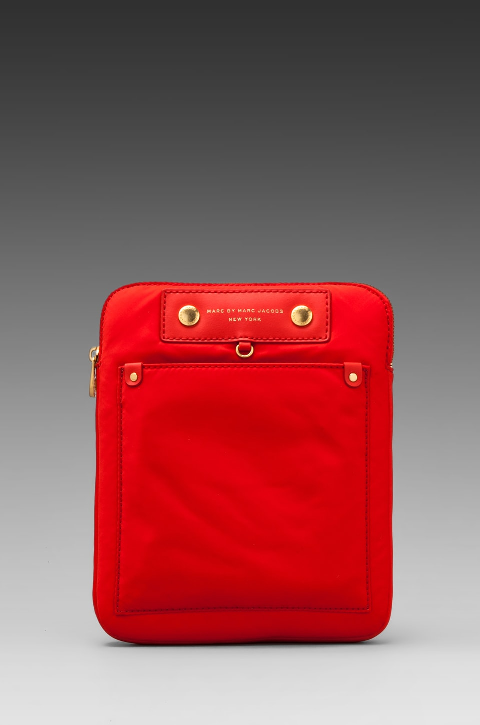 Marc by Marc Jacobs Preppy Nylon Tablet Case in Blaze Red