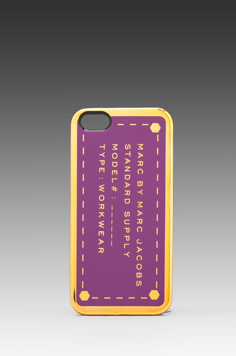 Marc by Marc Jacobs Metallic Standard Supply Phone Case in Amazon Purple