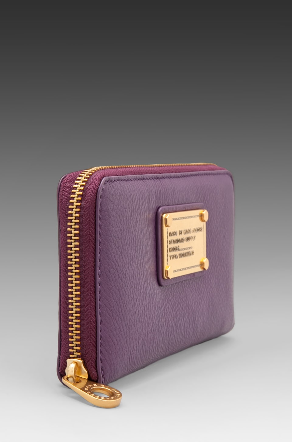 Marc by Marc Jacobs Classic Q Vertical Zippy in Pansy Purple