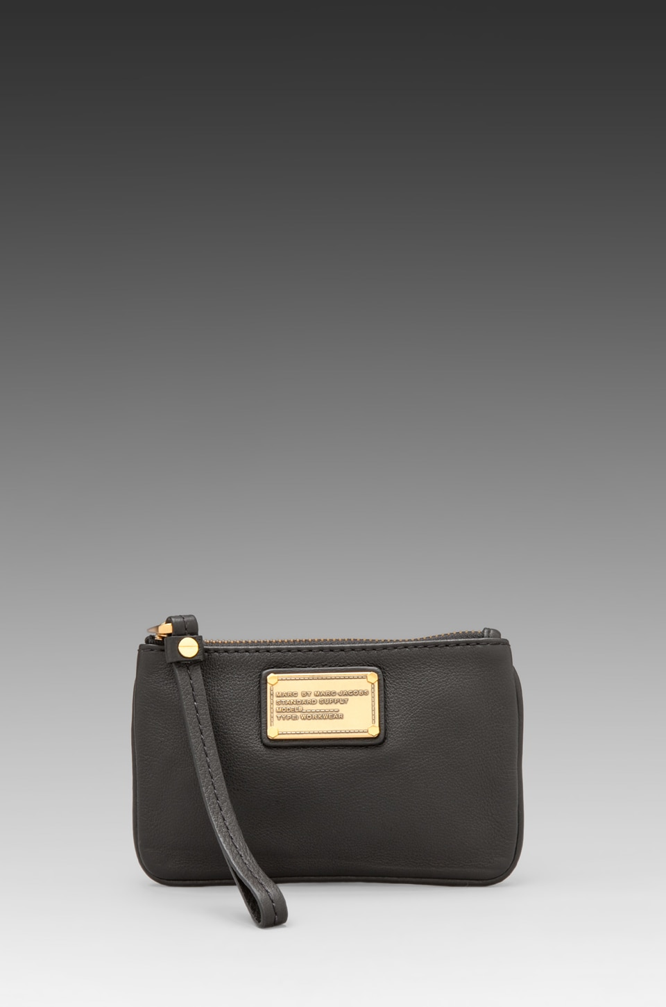 Marc by Marc Jacobs Classic Q Small Wristlet in Black