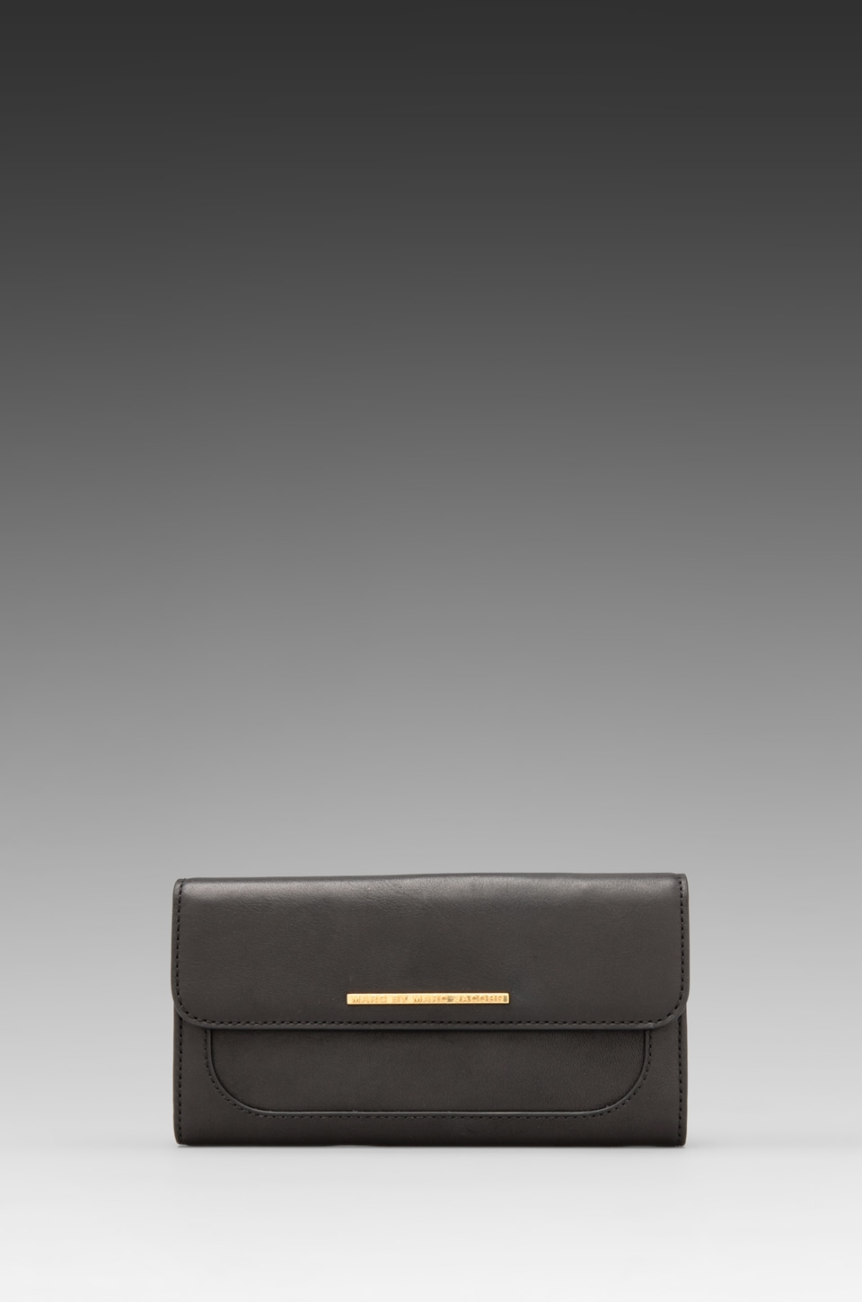 Marc by Marc Jacobs Get A Grip Continental Wallet in Black