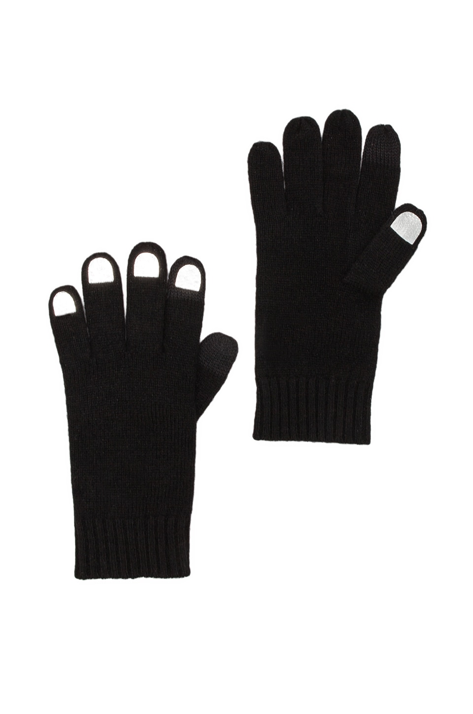 Marc by Marc Jacobs Fingers Gloves in Black