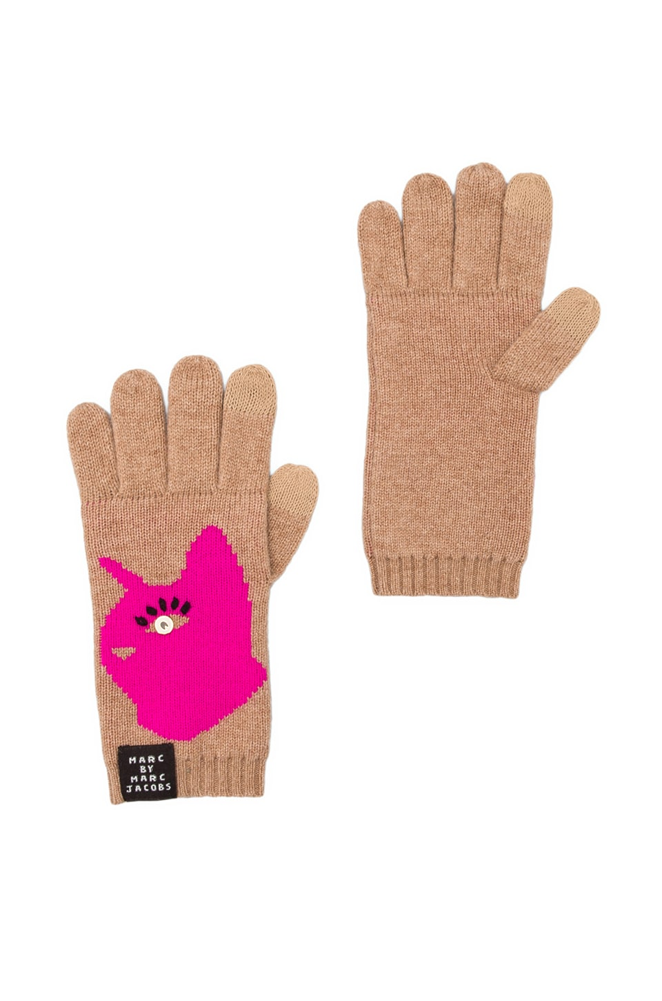 Marc by Marc Jacobs Rue Gloves in Malt Multi