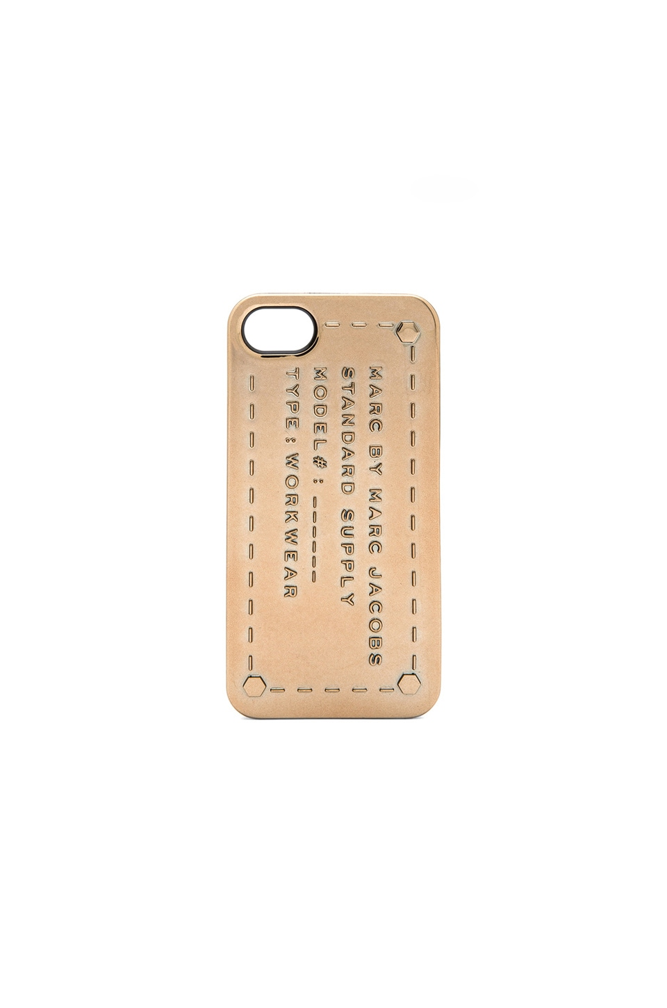 Marc by Marc Jacobs Standard Supply iPhone 6 Case in Metallic Rose Gold