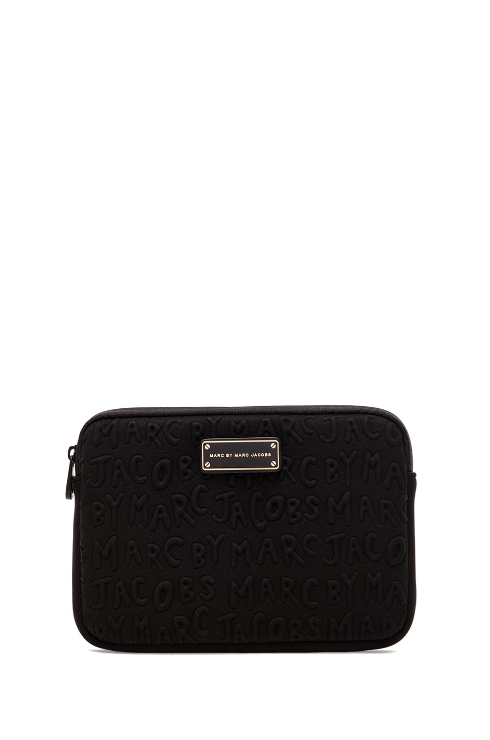 Marc by Marc Jacobs Adults Suck Neoprene Mini Tablet Case in Black