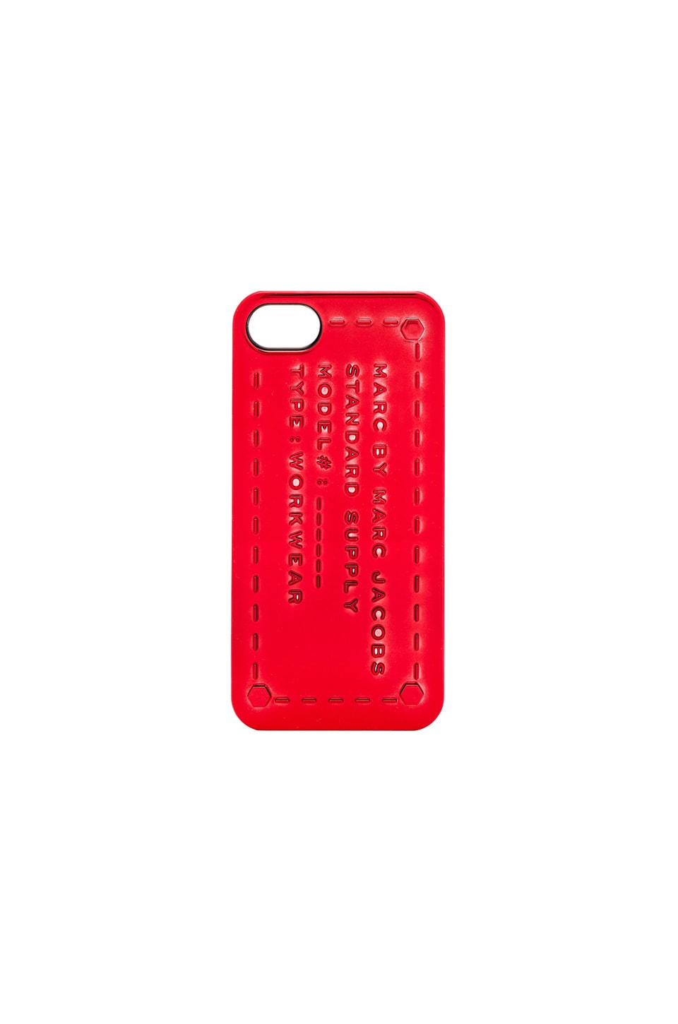 Marc by Marc Jacobs Standard Supply iPhone 5 Case in Rosey Red