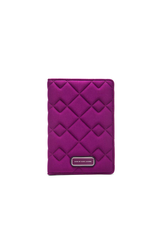 Marc by Marc Jacobs Crosby Neoprene Mini Tablet Book in Violet