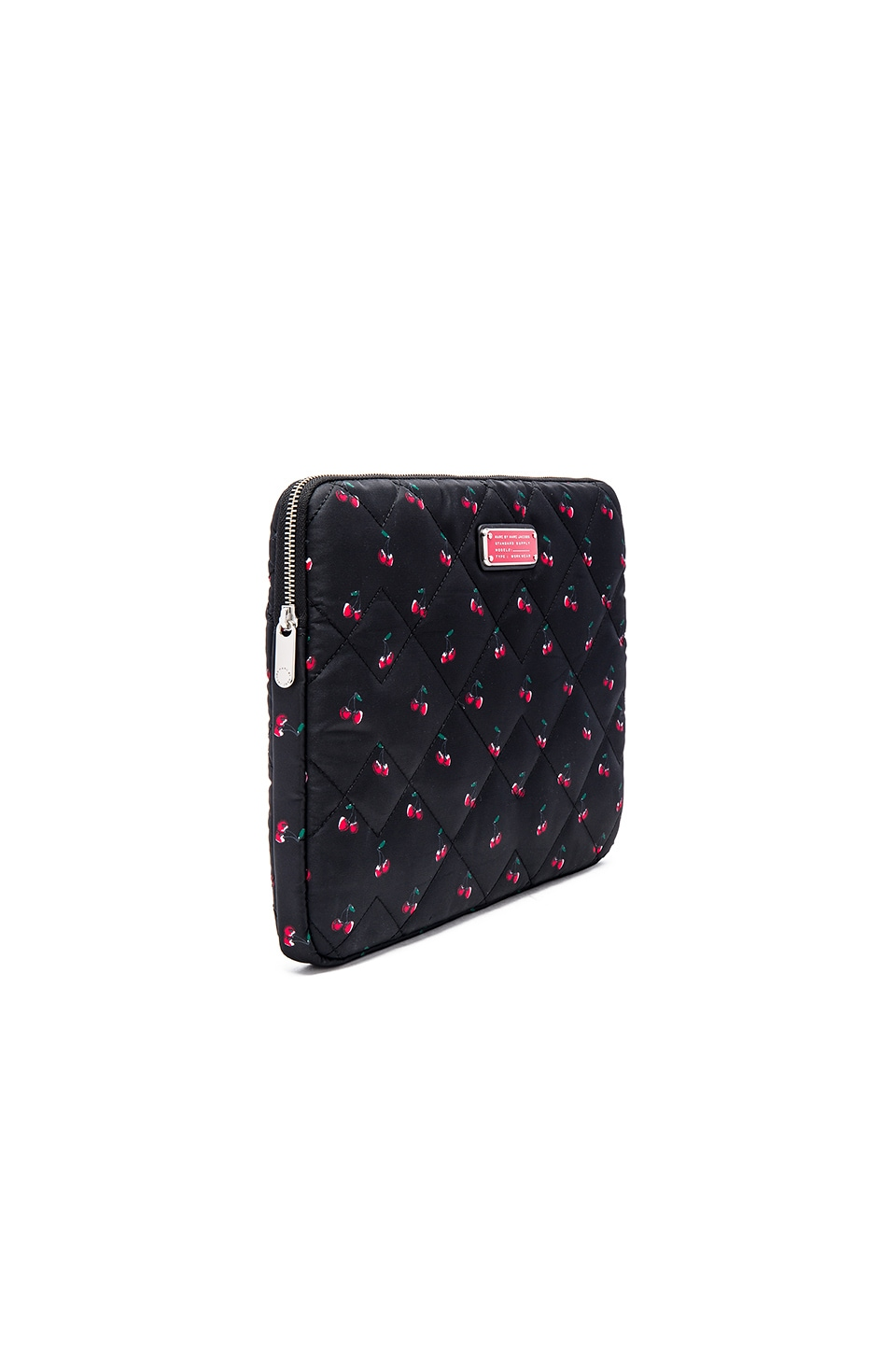 """Marc by Marc Jacobs Crosby Quilt Nylon Fruit 13"""" Computer Case in Cherry Print"""