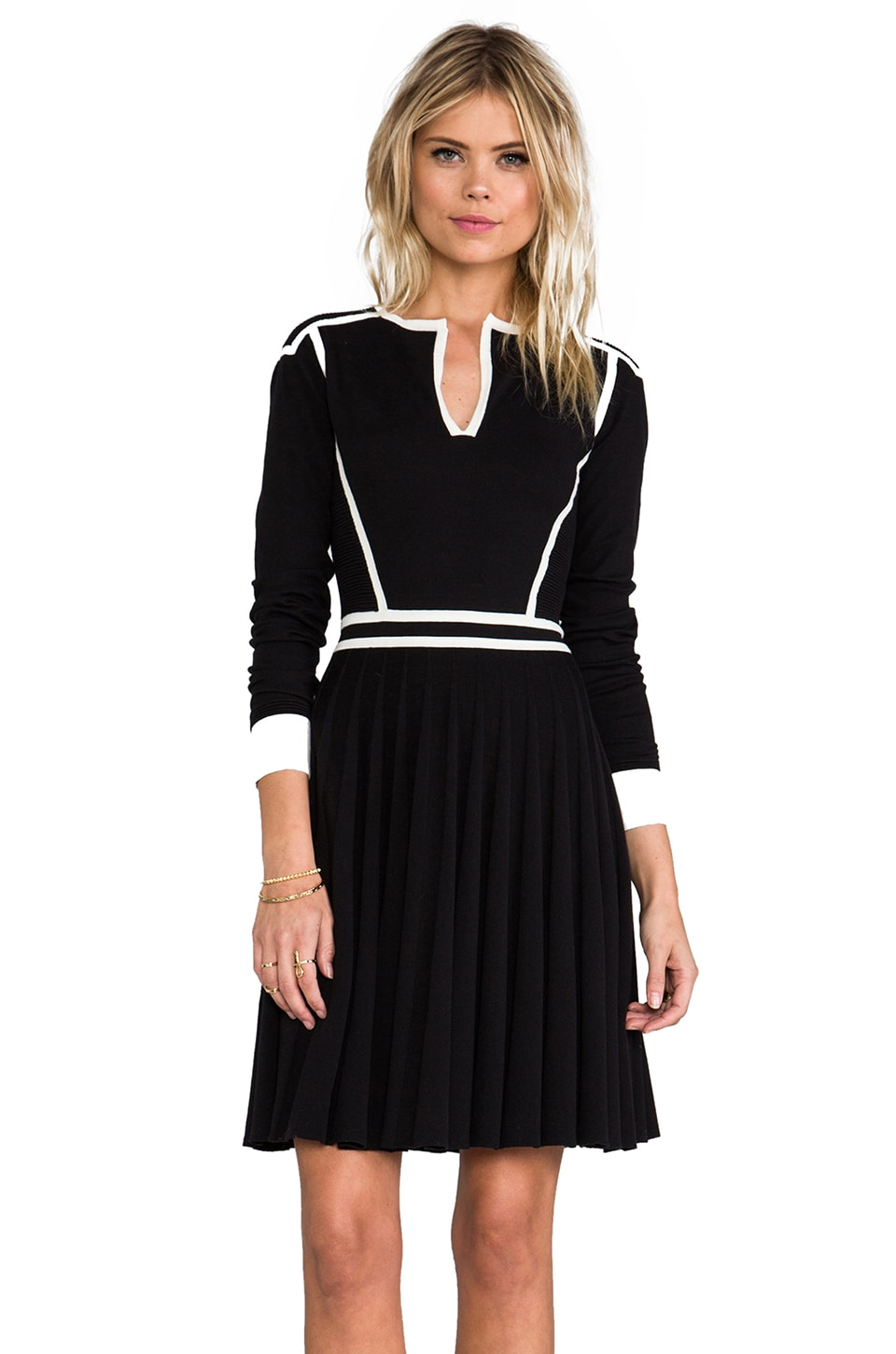 Marc by Marc Jacobs Alexis Sweater Dress in Black Multi