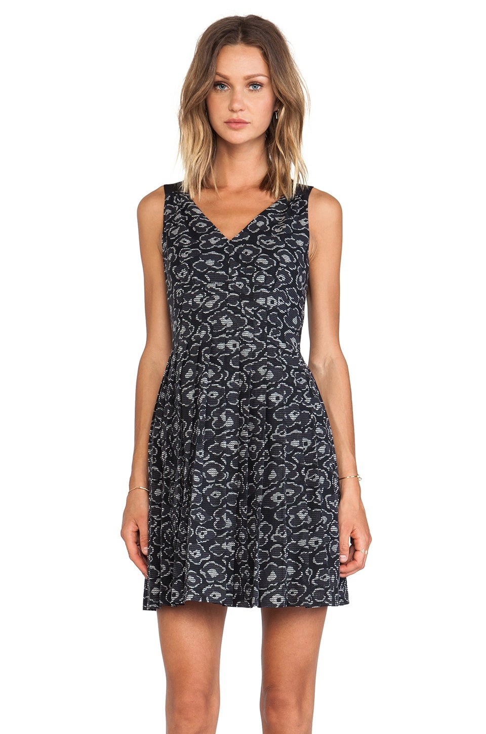 Marc by Marc Jacobs Cas Print Tank Dress in Orcha Black Multi