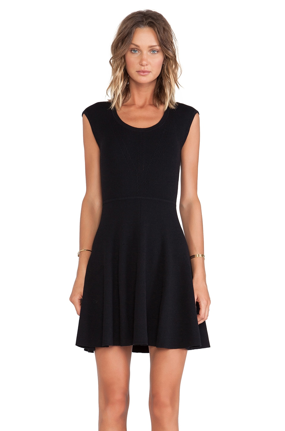 Marc by Marc Jacobs Wanda Sweater Dress in Black