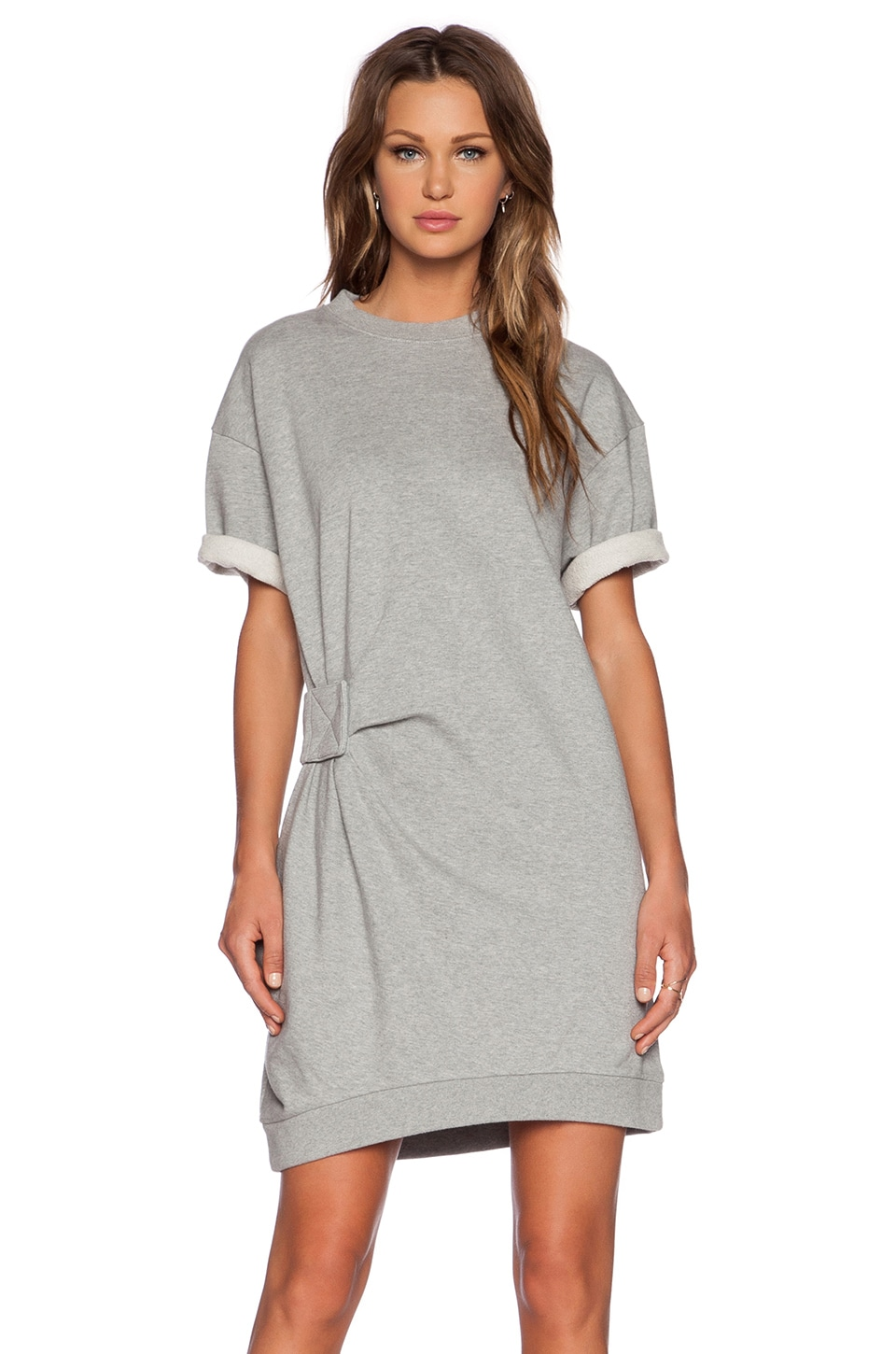 Marc by Marc Jacobs Rylie Sweatshirt Dress in Grey Melange