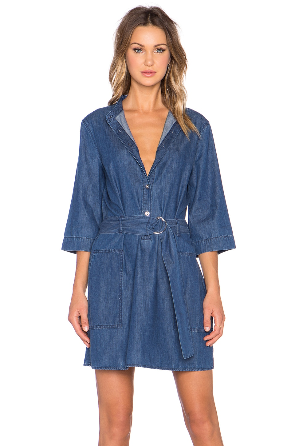 Marc by Marc Jacobs Indigo Denim Dress in Blow Blue
