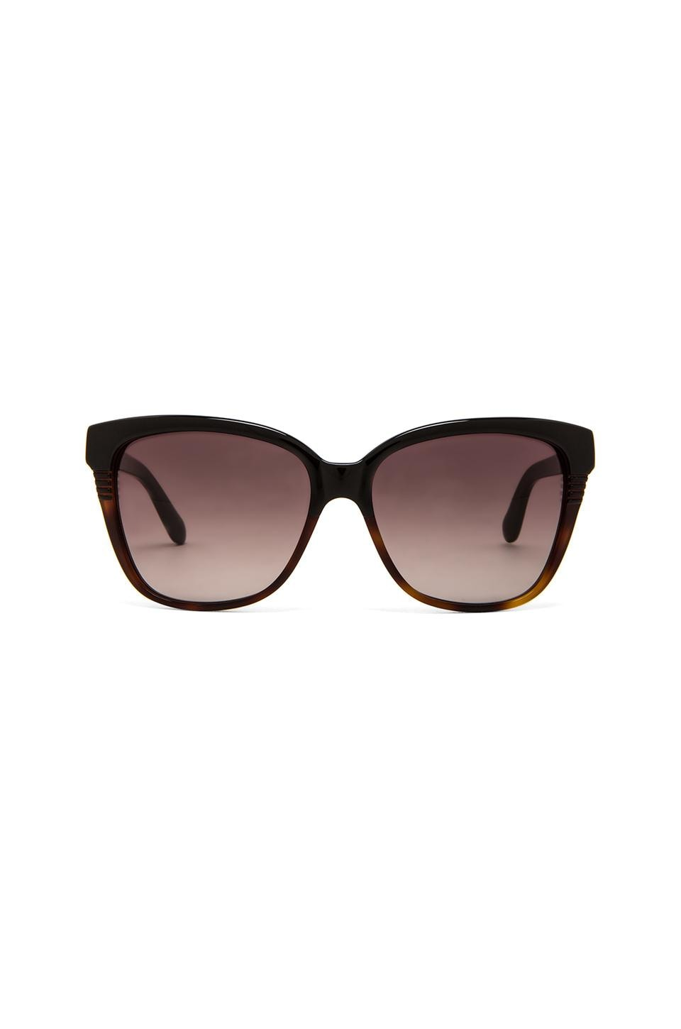 Marc by Marc Jacobs Classic Square Sunglasses in Black Dark Tortoise