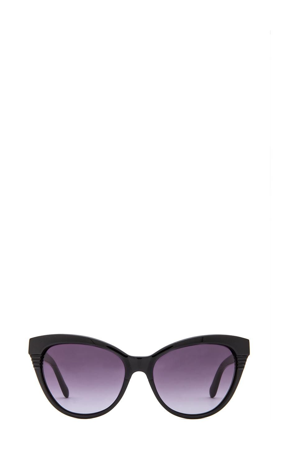 Marc by Marc Jacobs Marc by Marc Jacobs Soft Cat Eye Sunglasses in Black