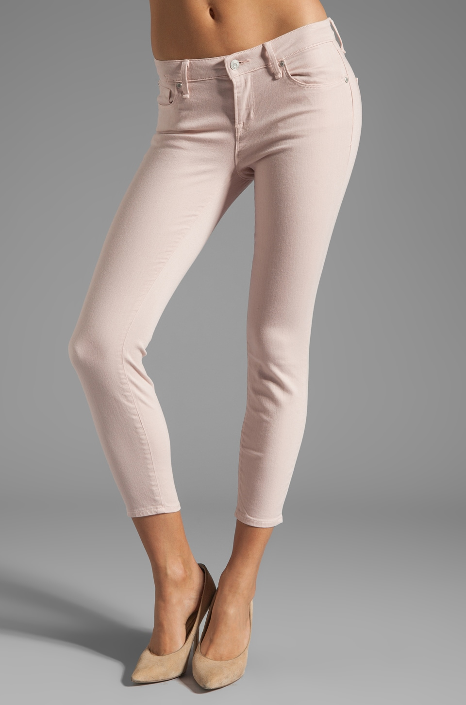 Marc by Marc Jacobs Lola Crop Skinny in Fantasia Pink