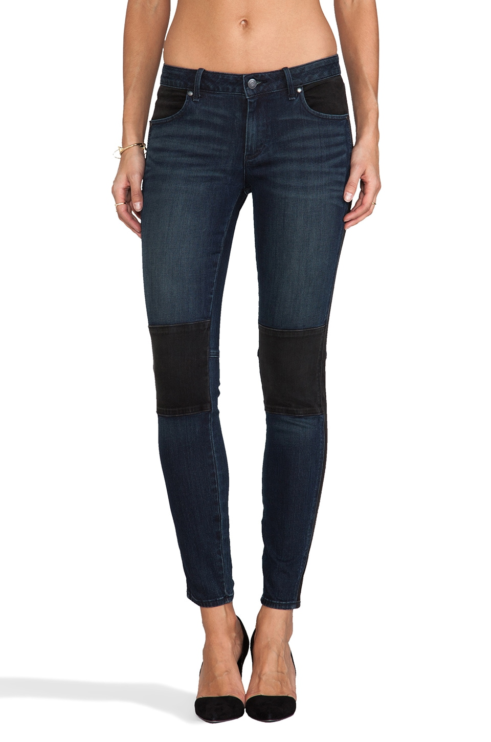 Marc by Marc Jacobs Seamed Cigarette Skinny in Tiia