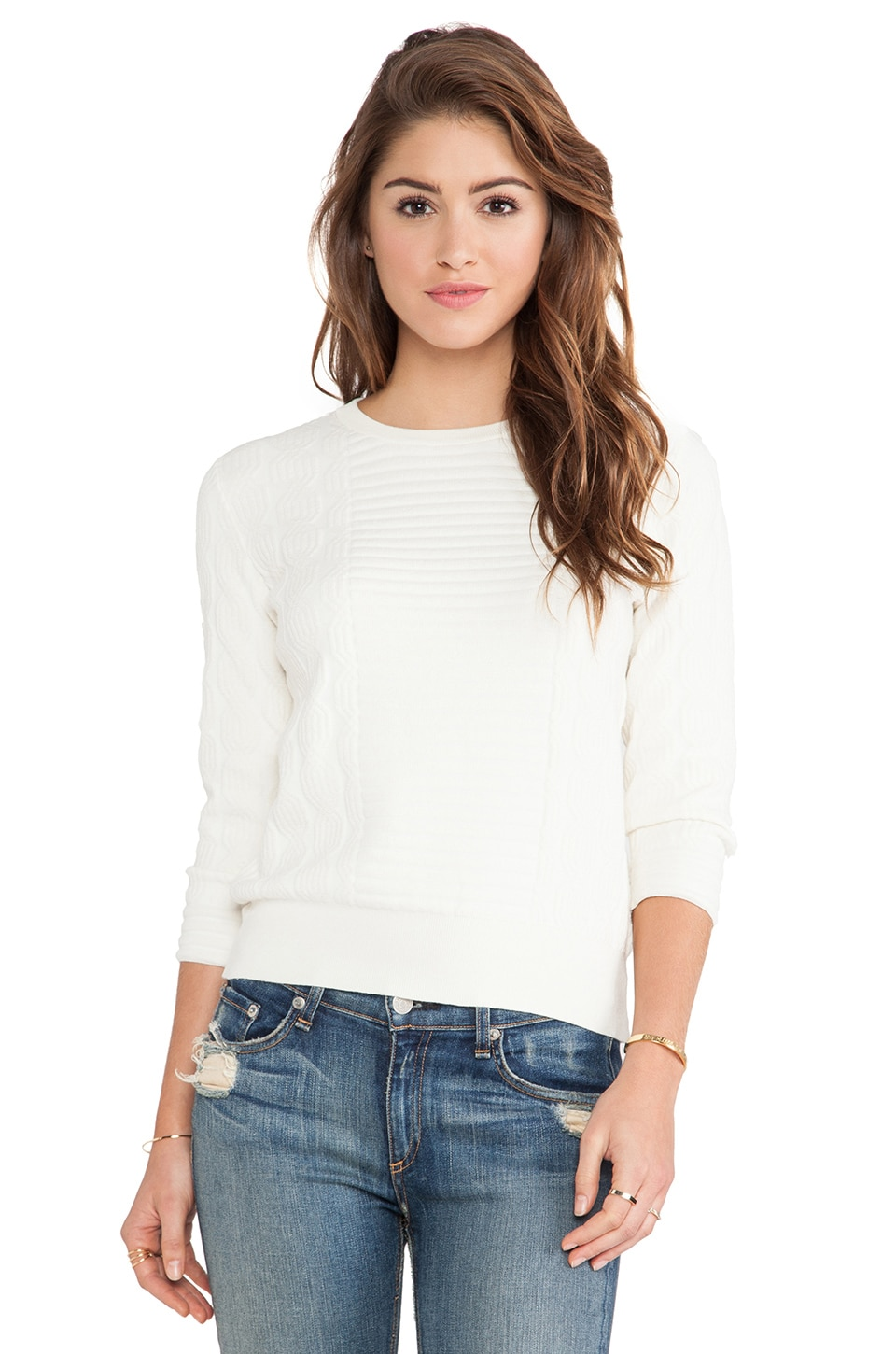 Marc by Marc Jacobs Lucinda Sweater in Antique White
