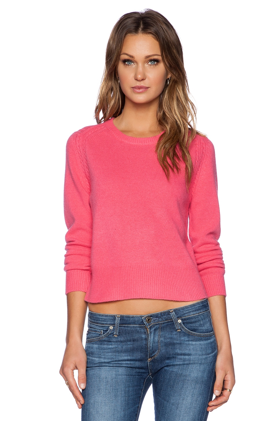 Marc by Marc Jacobs Iris Sweater in Pretty Pink Multi