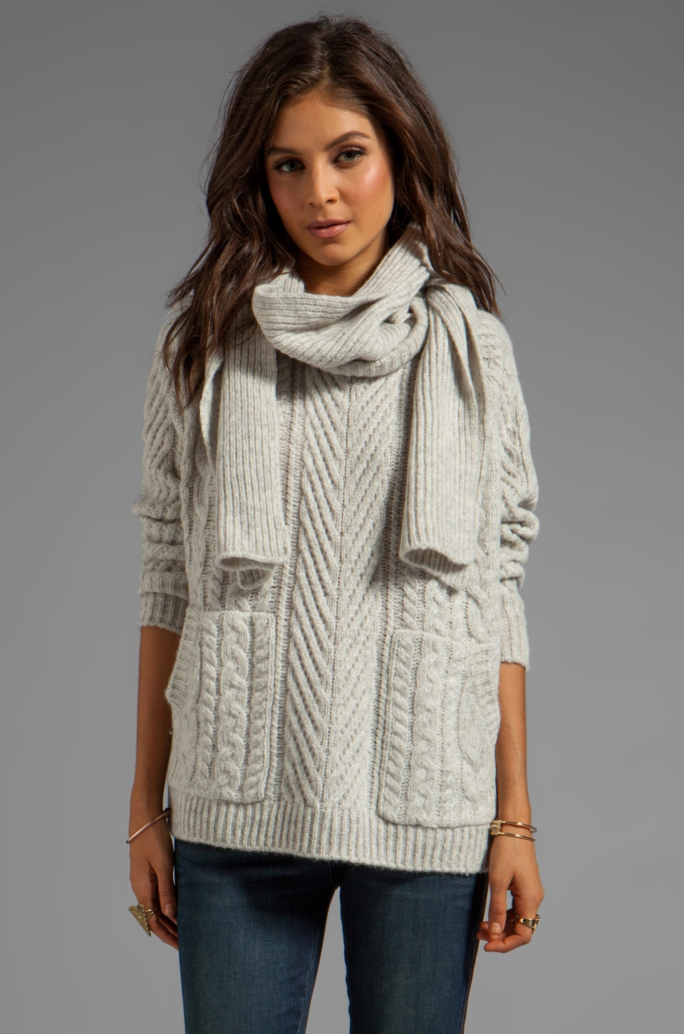 Marc by Marc Jacobs Connolly Sweater in Antique White Melange