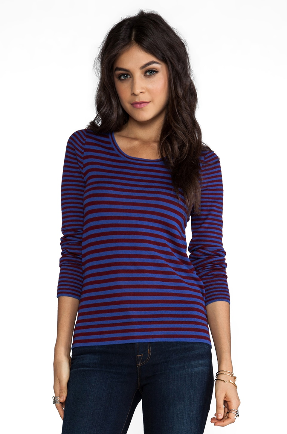 Marc by Marc Jacobs Fione Sweater in True Blue Multi