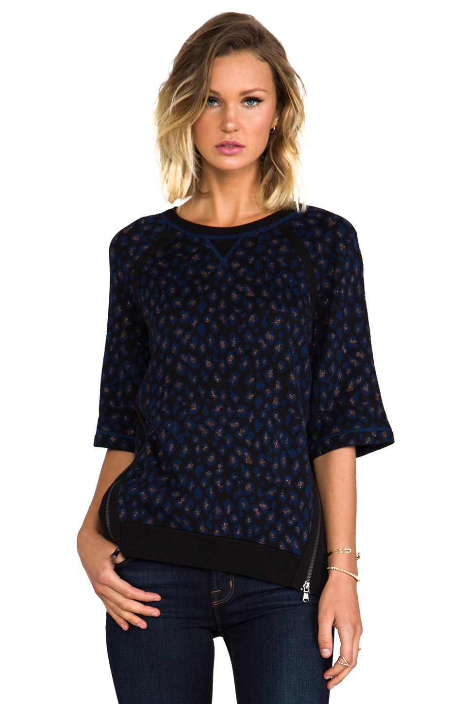 Marc by Marc Jacobs Sasha Sweater in Black Multi