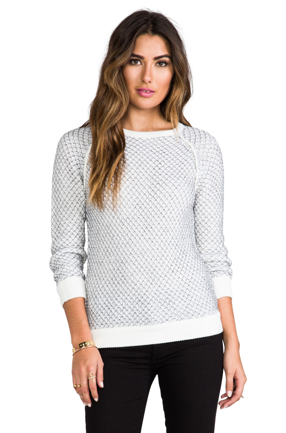 Marc by Marc Jacobs Jina Sweater in Whisper White