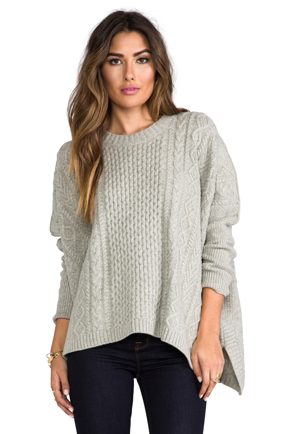 Marc by Marc Jacobs Frieda Sweater in Oyster Melange